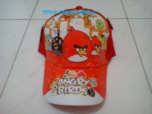 Topi Karakter Angry Bird