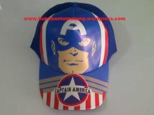 Topi Karakter Captain America