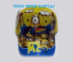 Topi Karakter Tiga Minion