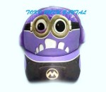 Topi Karakter Minion Evil Purple