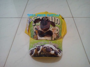 Topi Karakter Shaun The Sheep