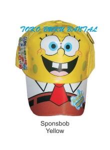 Topi Karakter Sponge Bob