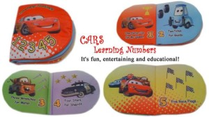 Buku Bantal – Cars Learning Number