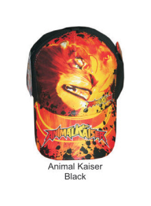 Topi Karakter Animal Kaisar Black