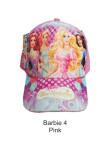 Topi Karakter Barbie 4 Pink