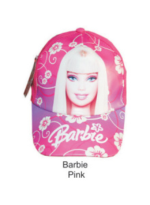 Topi Karakter Barbie Pink