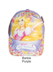 Topi Karakter Barbie Purple