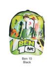 Topi Karakter Ben 10 Black