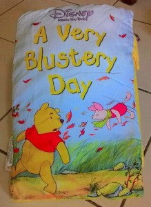 Story Pillow Book – A Very Blustery Day (Pooh)