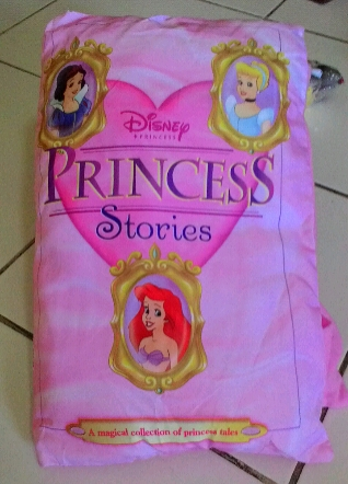 Story pillow book princess