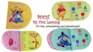 Buku Bantal – Pooh My First Learning