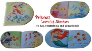 Buku Bantal – Princess Learning Number