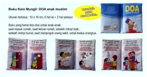 Buku Bantal Mungil – DOA Anak Muslim